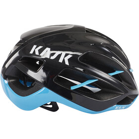 Kask Protone Casque, black/light blue